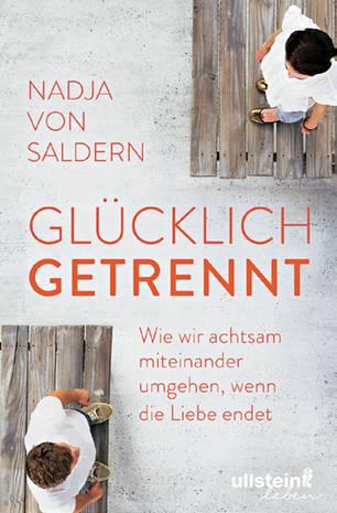 """Trennung ohne Drama - so trennt ihr euch ohne Streit - Buchcover von """"Glücklich getrennt"""""""
