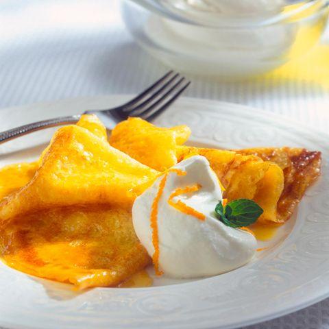 Crêpes Suzettes: Hauchdünn und köstlich