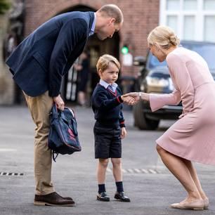 Prinz George verrät einer Fremden seinen Spitznamen