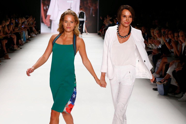 Schauspielerin Anouschka Renzi und ihre Tochter Chiara Moon