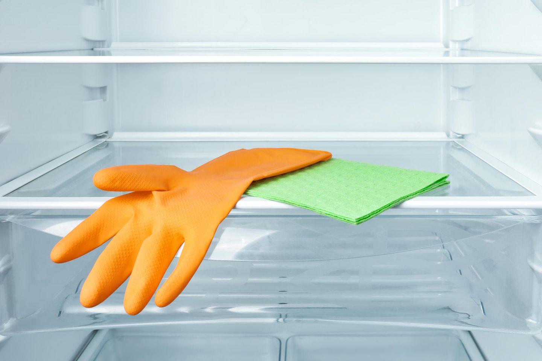 Schimmel im Kühlschrank: Frisch geputzter Kühlschrank