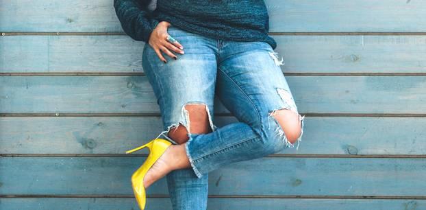 Figurberatung: Frau Jeans curvy
