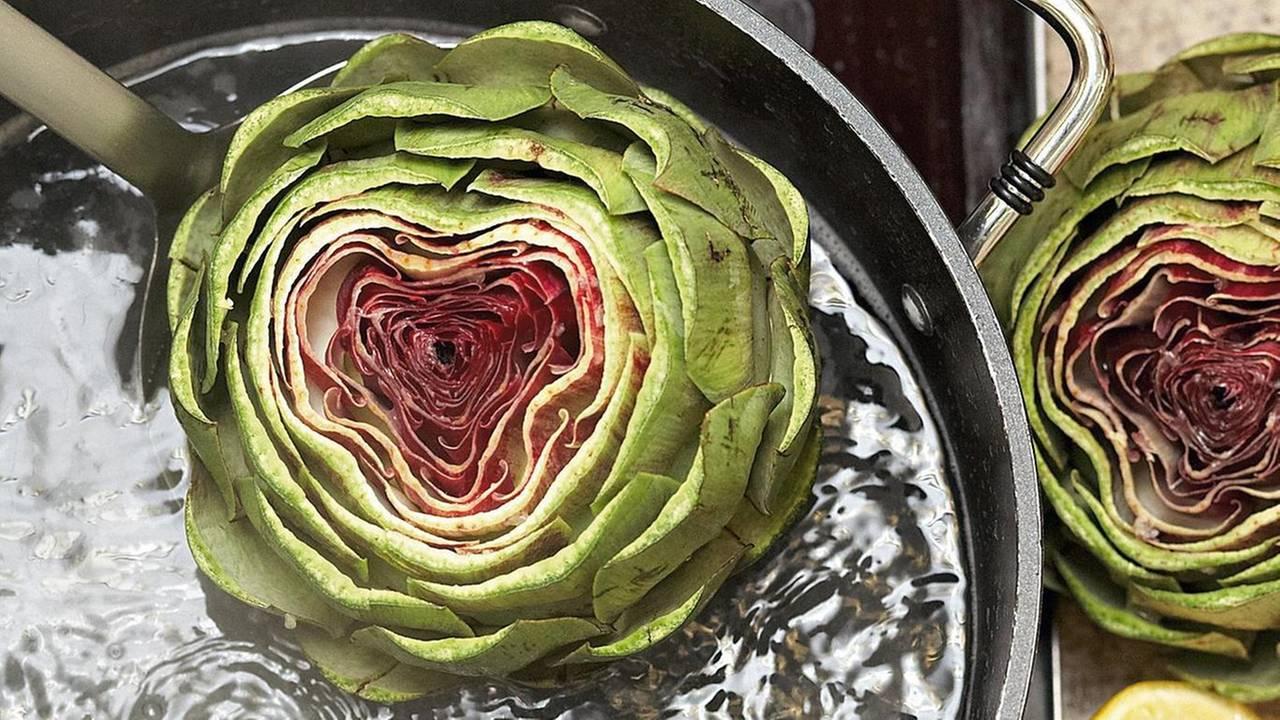 Video Kochschule Artischocken Kochen Brigittede