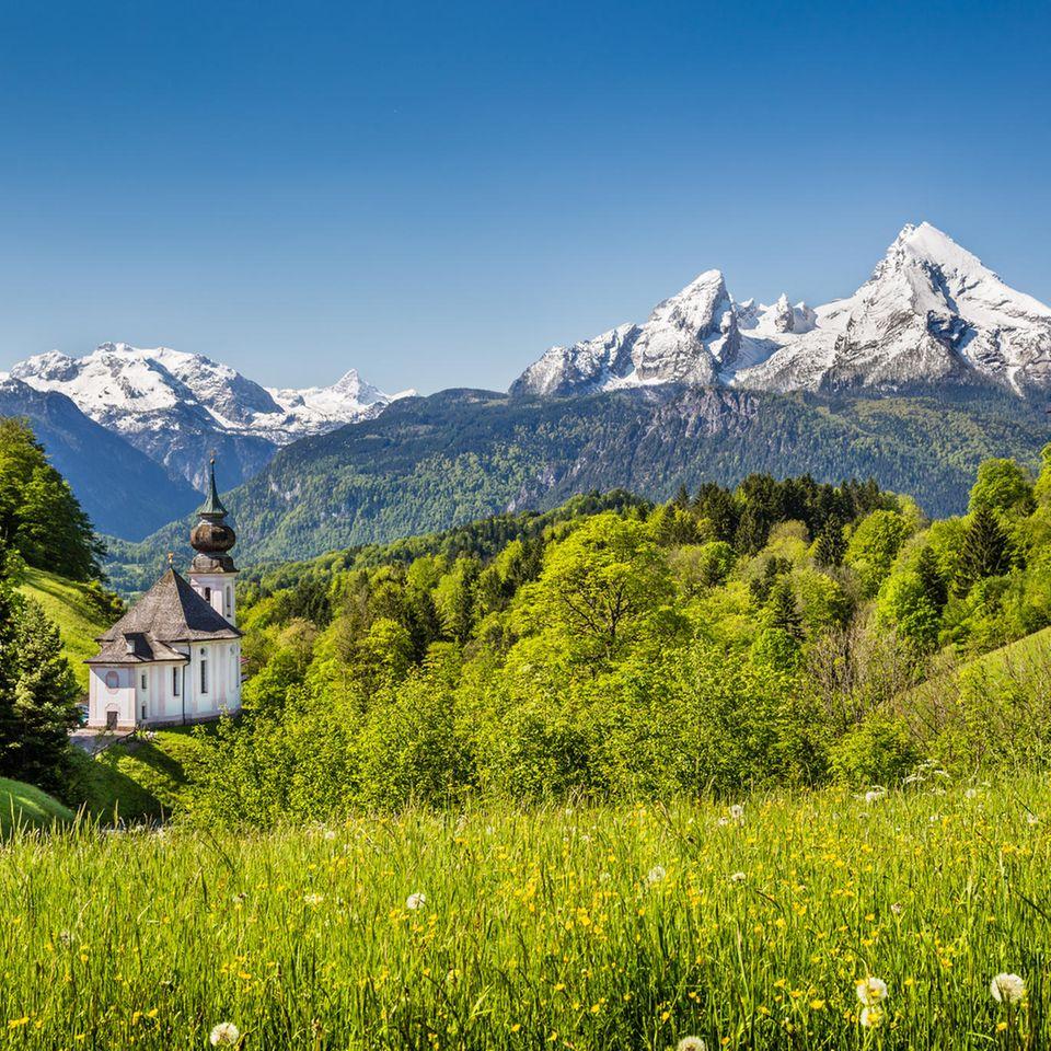 Pilgern: Auf Sinnsuche über die Alpen