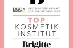 BRIGITTE Top Kosmetikinstitut: Siegel