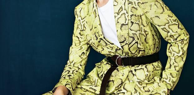 Reptilienprint: So stylst du den Schlangen-Look