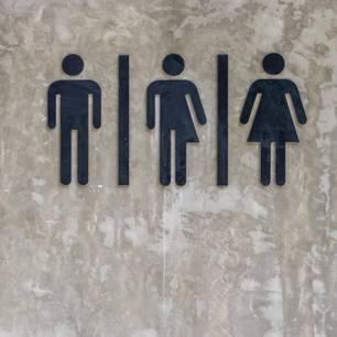 Toiletten für drittes Geschlecht