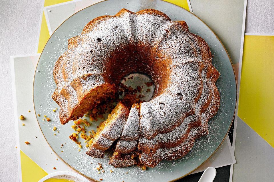 Möhren-Ingwer-Kuchen
