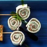 Lachs-Tortilla-Spieße