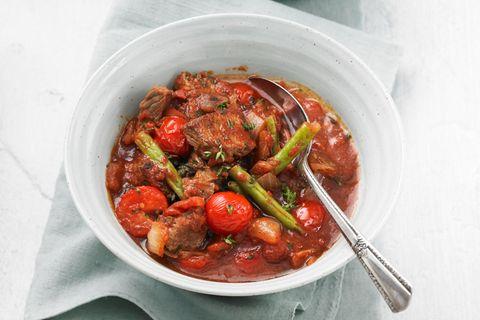 Marokkanischer Lamm-Tomaten-Eintopf