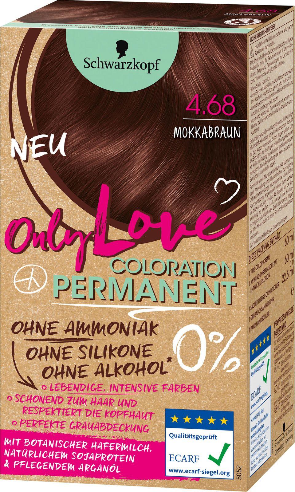 """""""Only Love""""-Haarfarbe von Schwarzkopf"""