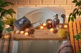 Badewanne mit Kerzen