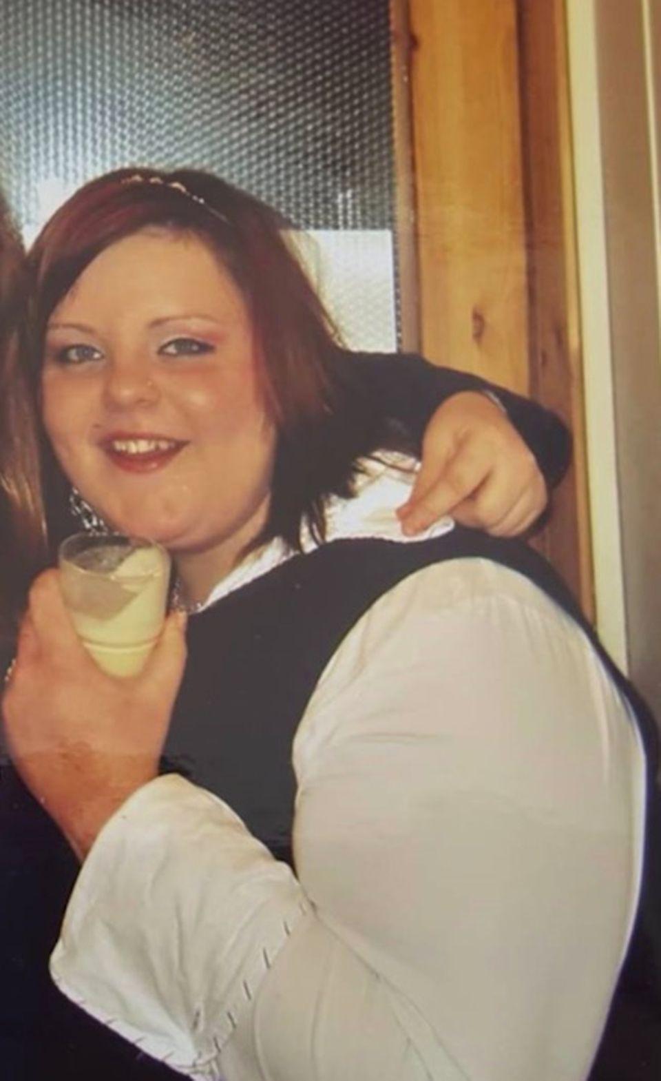 82 Kilo weniger: Sarah vor der Abnahme