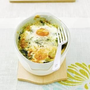 Spinat-Eier