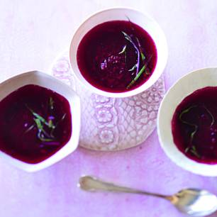 Rote Bete-Consommé