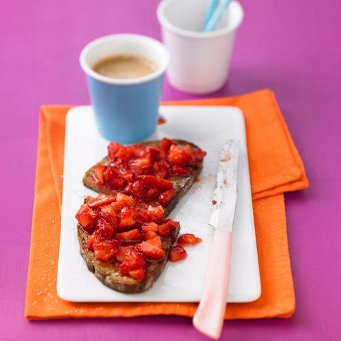 Erdbeer-Frühstücks-Brot