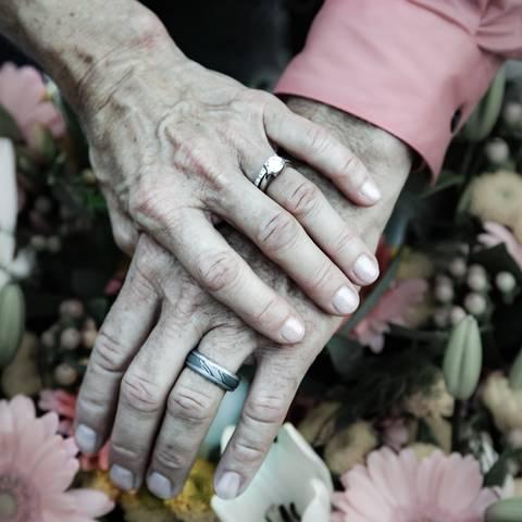 Ehepaar Feiert 81 Hochzeitstag 100 Und 102 Jahre Alt Brigitte De