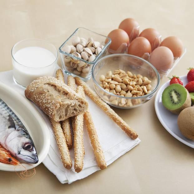 Lebensmittelallergie: Brot, Eier und Obst