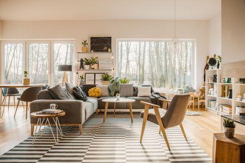 Friluftsliv: Wohnzimmer in Naturtönen