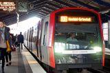 Zeitfresser loswerden: U-Bahnhof in Hamburg