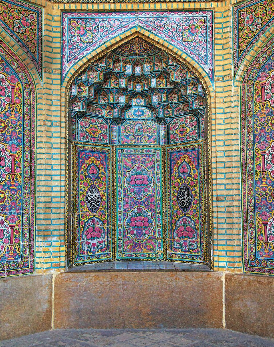 Iran: Reisetipps von Teheran nach Shiraz - Moschee in Shiraz