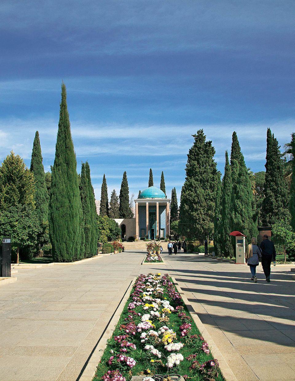 Iran: Reisetipps von Teheran nach Shiraz - Mausoleum