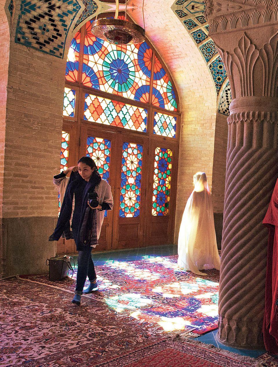 Iran: Reisetipps von Teheran nach Shiraz - Rosa Moschee