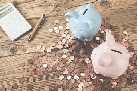 Anleitung zum Geld sparen: Kleingeld und Sparschweine