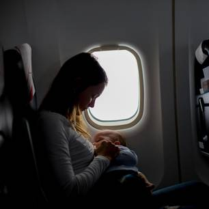 Ab wann darf man mit Baby fliegen?