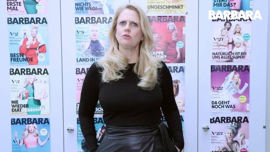 Barbara über maennerfuesse