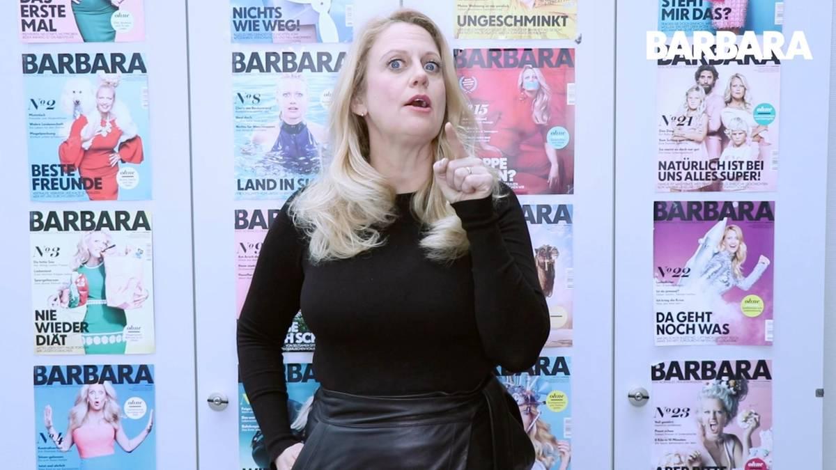Barbara, 'ab in die Tonne oder Resteessen?