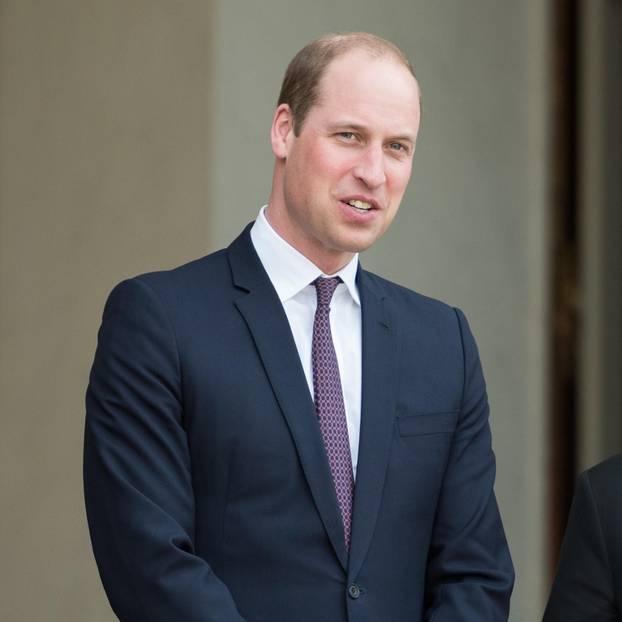 Prinz William ohne Bart