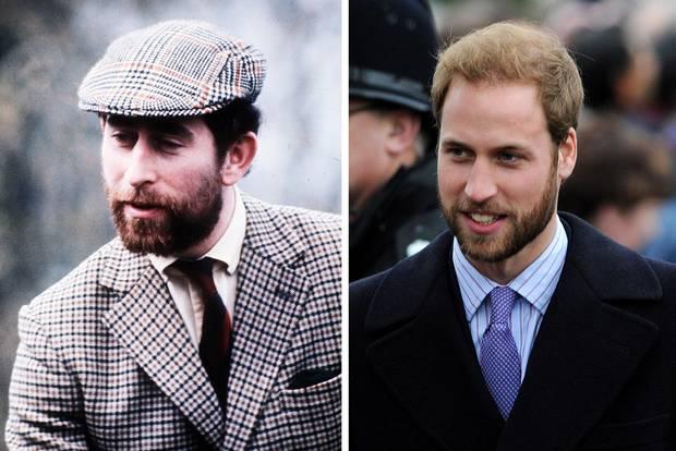 Weißt du noch, wie Prinz William mit Bart aussah?