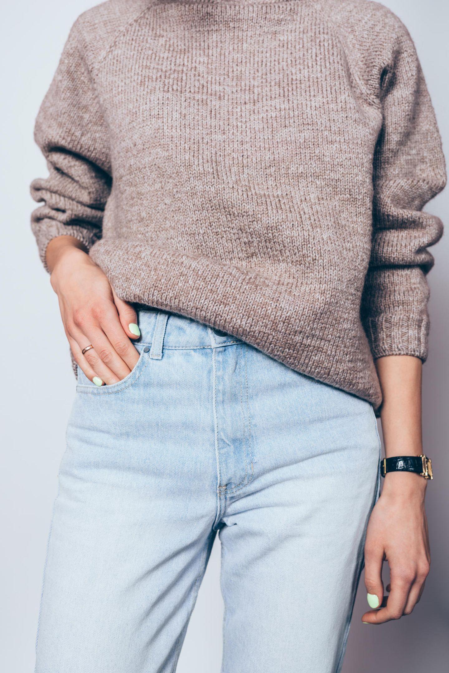 Figurberatung Jeans: Frau kleiner Bauch