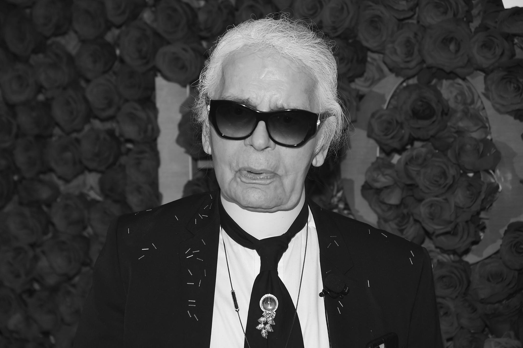 Designer Karl Lagerfeld ist gestorben
