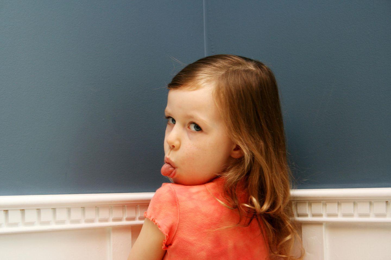 In Gegenwart der Mutter benehmen sich Kinder am schlimmsten