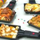 Süße Raclette-Pfännchen