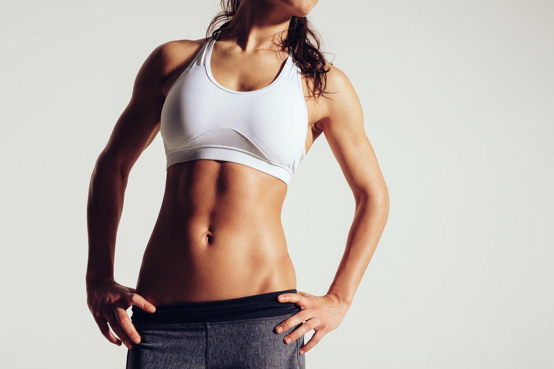 Stomach Vacuum: Flacher Bauch