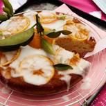 Orangen-Karamell-Kuchen