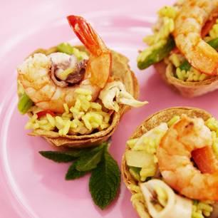 Paella-Salat