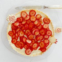 Erdbeer-Ingwer-Tarte