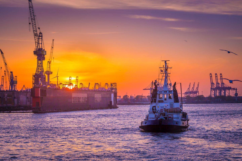 Kraftquellen der Redaktion: Hamburger Hafen