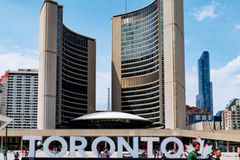 Toronto Reisetipps - Toronto Schriftzug