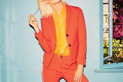 Bunte Hosenanzüge: Anzug in orange