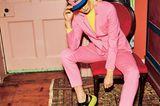 Bunte Hosenanzüge: Anzug in pink