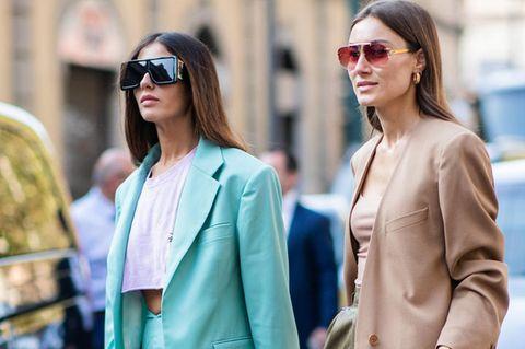 Power Suits: Zwei Frauen im Anzug