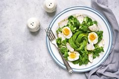 Eiweiß Diät: Proteinreiche Mahlzeit