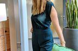 Mein starker, grüner Jumpsuit ist deshalb so stark, weil er perfekt passt und einen optisch in die Länge zieht. Und Grösse gibt einem ja gleich ein starkes Gefühl. Als ich ihn das erste Mal trug, noch dazu gleich falsch herum und das auch noch auf einer Hochzeit, machte es gar nichts. Niemand bemerkte es!Das spricht doch sehr für dieses Kleidungsstück und bestärkt mich weiterhin darin,dieses tannengrüne Lieblingsteil immer wieder aus dem Schrank zu holen.      Susi, Bildredakteurin