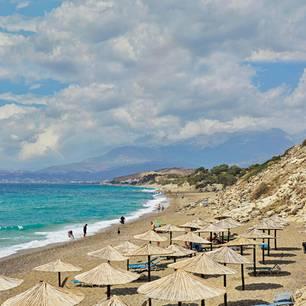 Kreta mit Kind: Strand auf Kreta