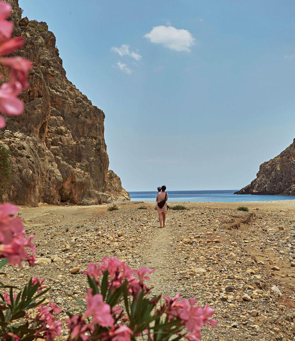 Reisen mit Kind: Tipps für einen Familienurlaub auf Kreta - Agiofrango-Schlucht